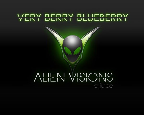 very berry blue alien vision