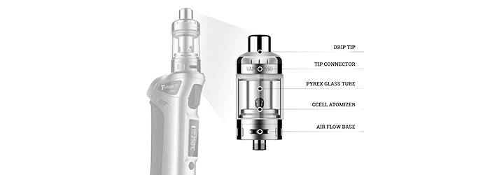 Target Pro 75W VTC Clearomiseur