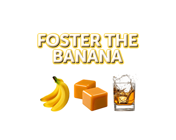 e-liquide Foster The Banana the sweet shoppe