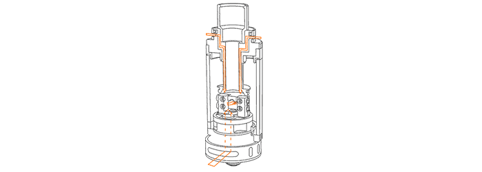 Griffin 25 Top Airflow View