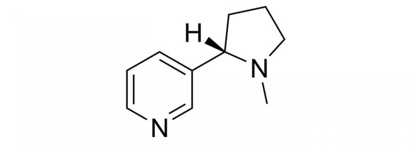 Molécule Nicotine Vape