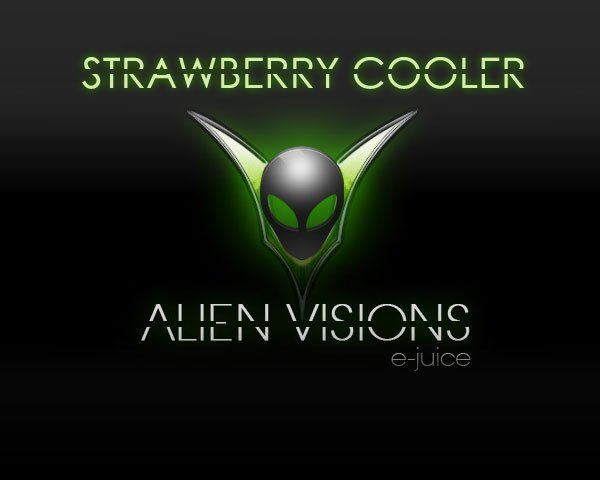 strawberry cooler alien visions