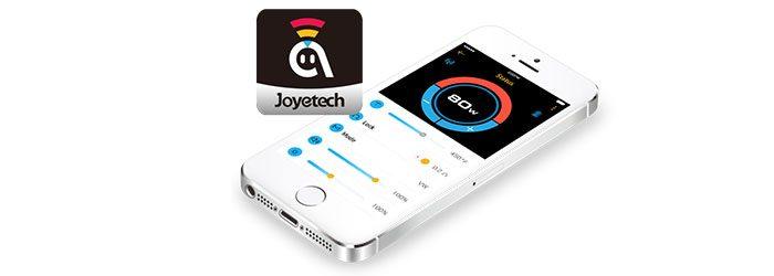 Application Ocular 80W Joyetech