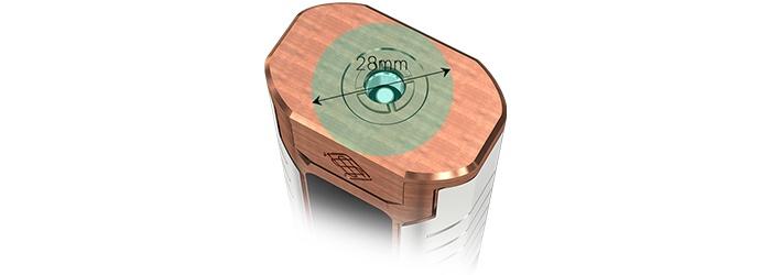 box sinous fj200 wismec couleur bronze