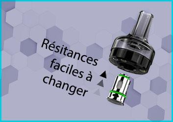 comment changer resistance gtl eleaf