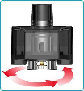 airflow reglable cartouche v9 rpm 160 smok
