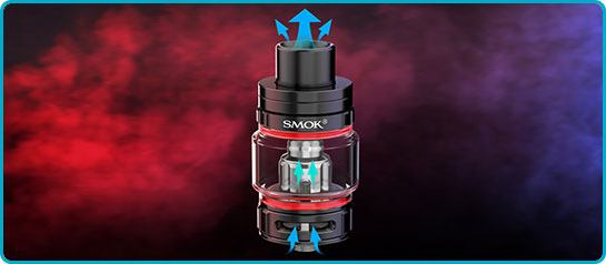 airflow clearomiseur tfv9 scar18 smok