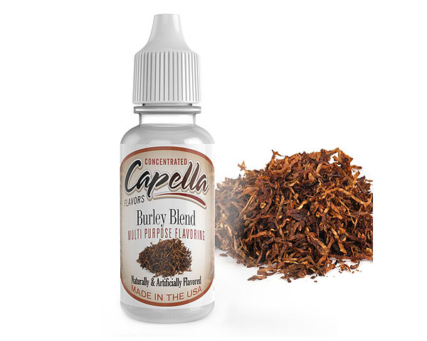 arome tabac burley blend capella avis