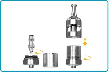 Clearomiseur Nautilus 2S : atomiseur aspire polyvalent