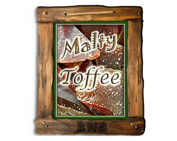 malty toffee backwoods brew