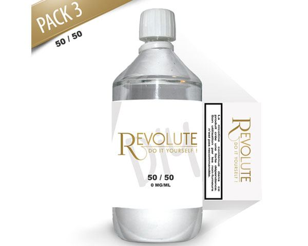 Base 1 litre 3mg 50/50 Revolute