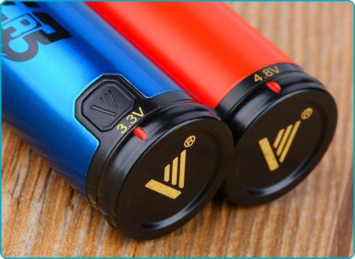 Batterie Vapros spinner 3 test