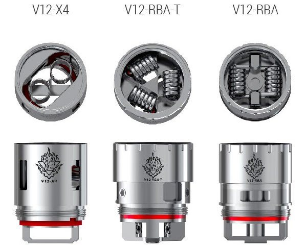 resistance authentique smoktech tfv12