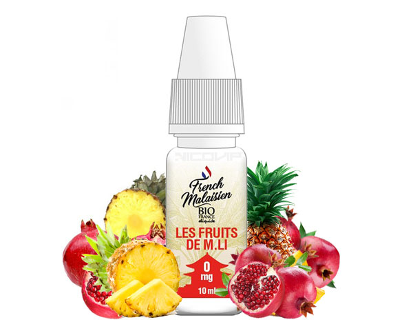 e-liquide French Malaisien Les Fruits de m. li