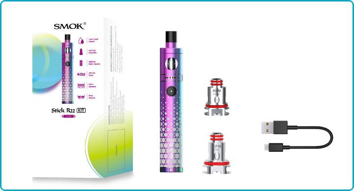 accesoires stick R22 smok