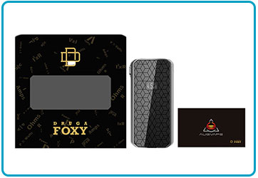 mod druga foxy 150w augvape packaging