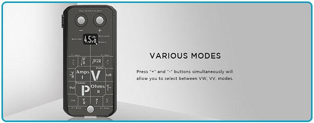 mod druga foxy 150w augvape modes VW VV