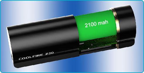 coolfire z50 batterie