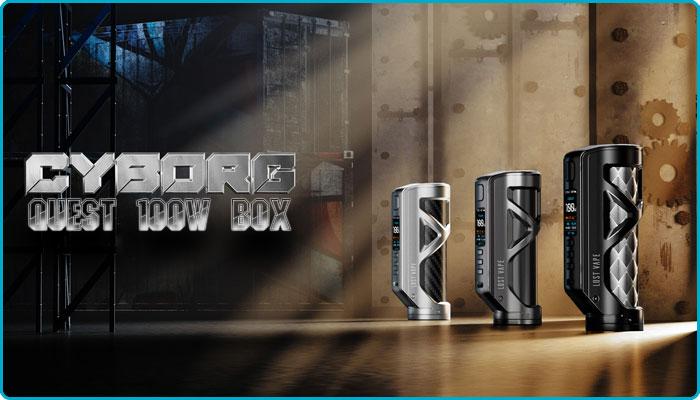 cyborg quest 100w box lost vape