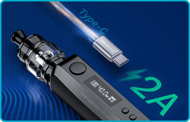 Box vaporesso gtx one cable usb c