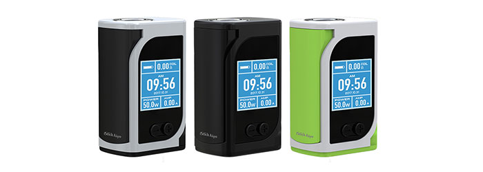 box istick kiya 50w eleaf couleurs