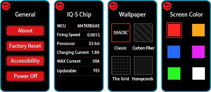 box morp smok tactile personnalisation