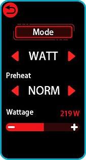 box morp smok tactile wattage