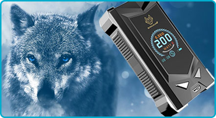 box mod snowwolf mfeng 200w