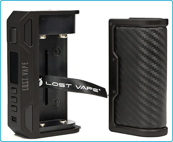 lost vape thelema quest box double accu