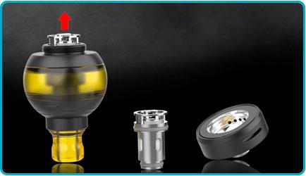 Changer resitance gtc goball mini fumytech