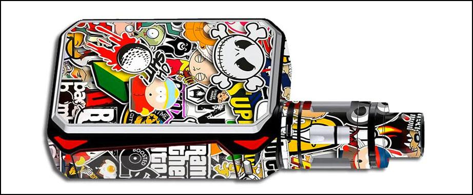 stickers personnalisé cigarette électronique