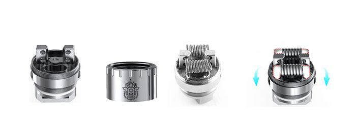 clearomiseur tfv8 smoktech base rba