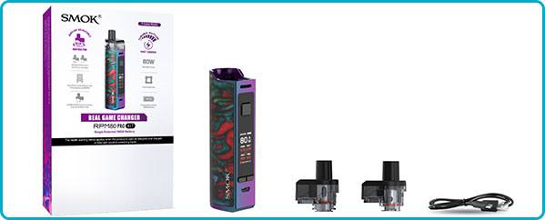 kit complet rpm80 pro smoktech