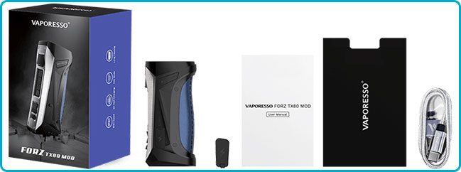 pack box tx80 vaporesso
