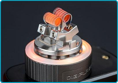 avis montage double coil torch rta