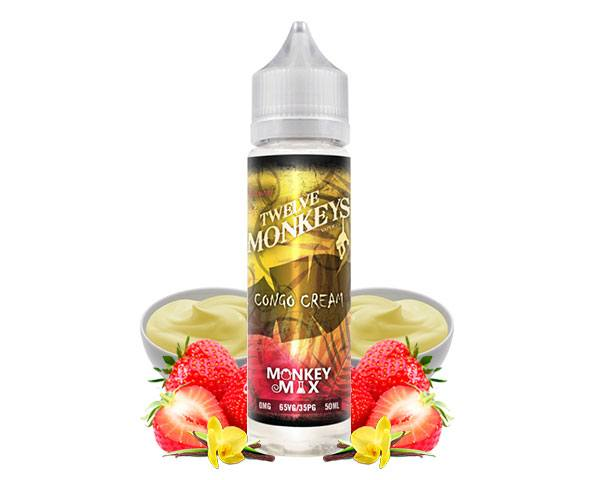 e liquide congo cream monkey mix