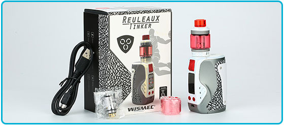 package du kit wismec reuleaux tinker 300W tc