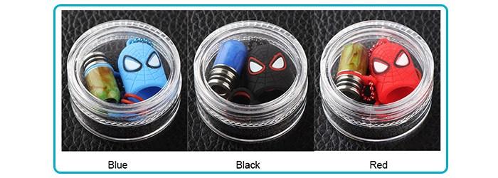 couleurs drip tip 510 spideman