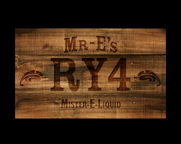 Mr-E\'s RY4 e-liquid