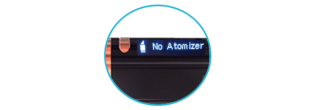 no atomizer