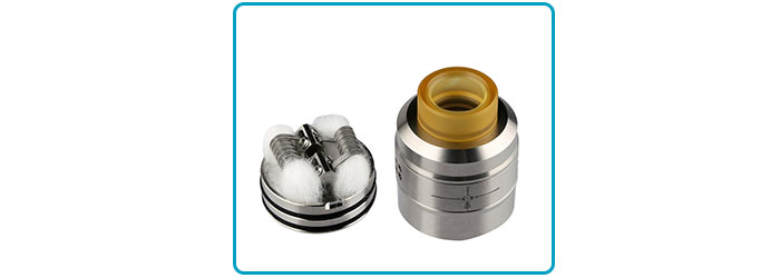 dripper double coils sniper rda demon killer