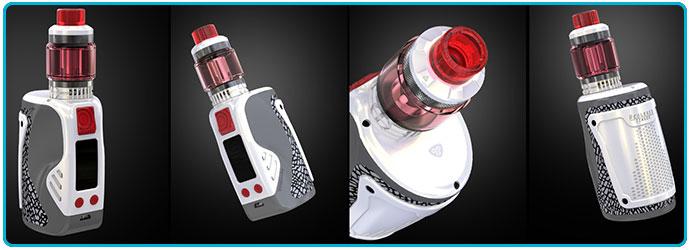 kit wismec reuleaux tinker 300W tc ergonomie