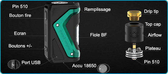 composition kit aegis squonk