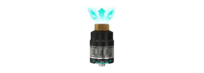 clearomiseur airflow reglable wismec