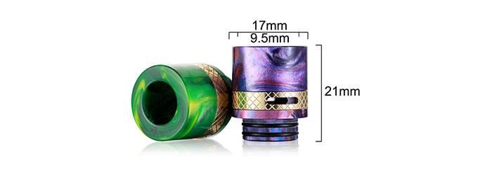 dimensions drip tip 810 résine airflow