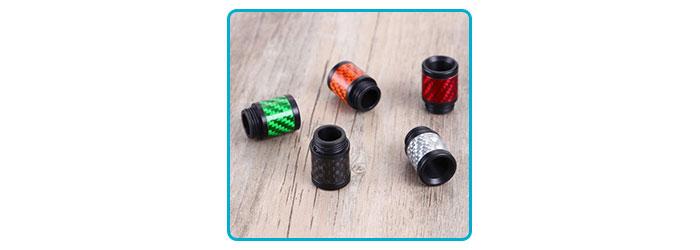 drip tip 810 en fibre de carbone et resine