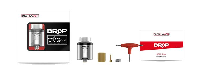 dripper drop bf rda digiflavor avis
