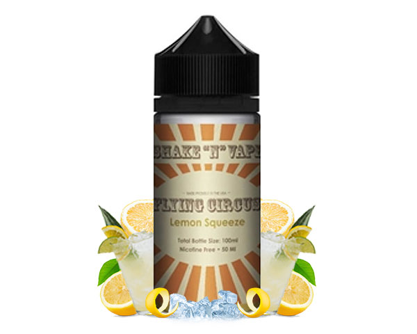 Achat e liquide 50ml lemon squeeze flying circus