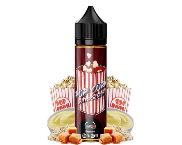 E liquide Popcorn butterscotch 50ml supafly