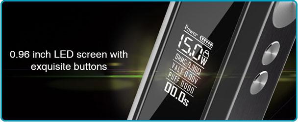 Cube Box Mod écran LED HD